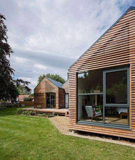 Larch Cladding • Water Lane • Oxfordshire • Baca Architects • 2016