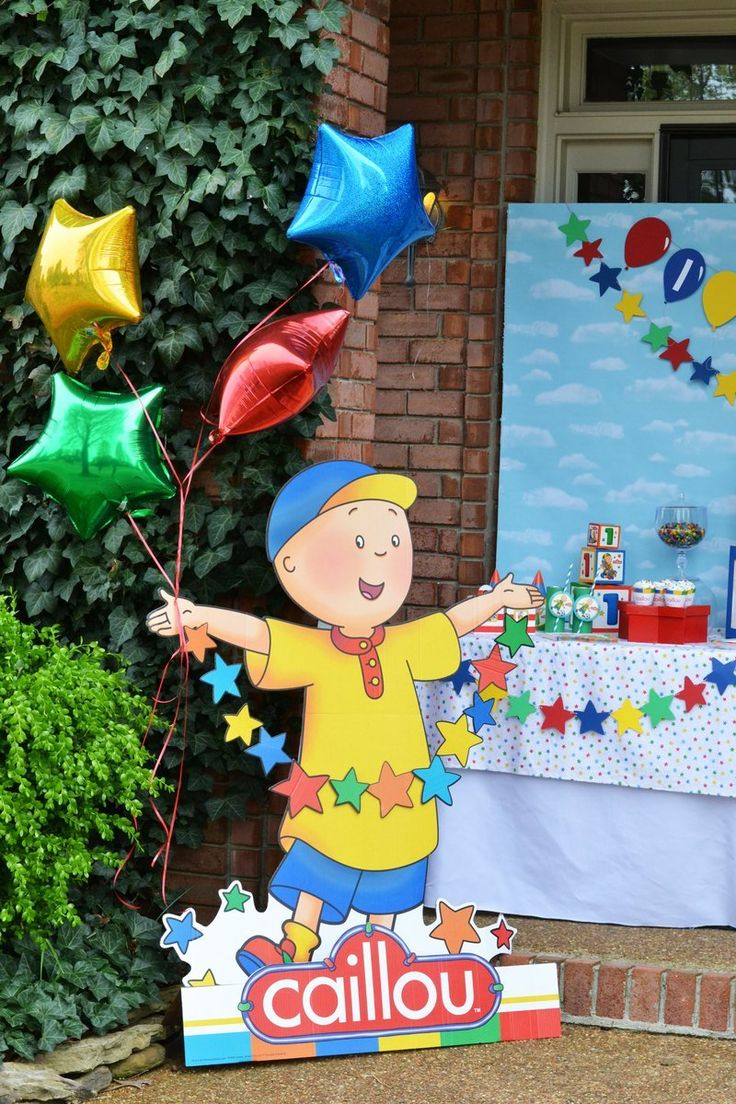 7 best caillou birthday images on pinterest caillou capes and