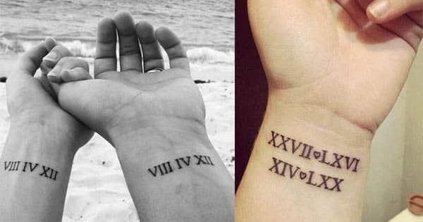 Más de 40 tatuajes de números romanos
