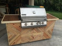 Upcycled Grill Station