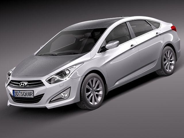 3D Hyundai I40 Sonata 2012 - 3D Model