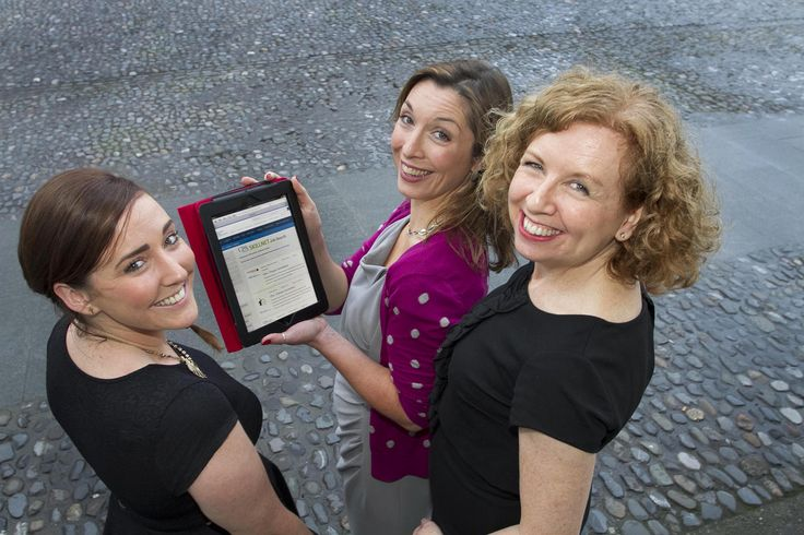 L-R Kay Kinsella, Jean Ryan and Suzanne Shaw CPA Ireland .