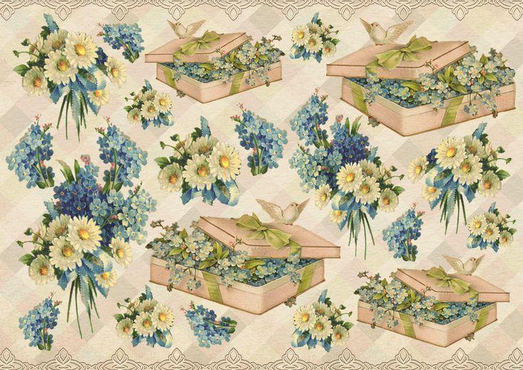 Вышивки, картинка скрапбукинг весна