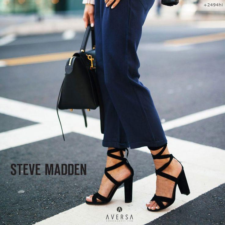 Steve Madden Christey black suede