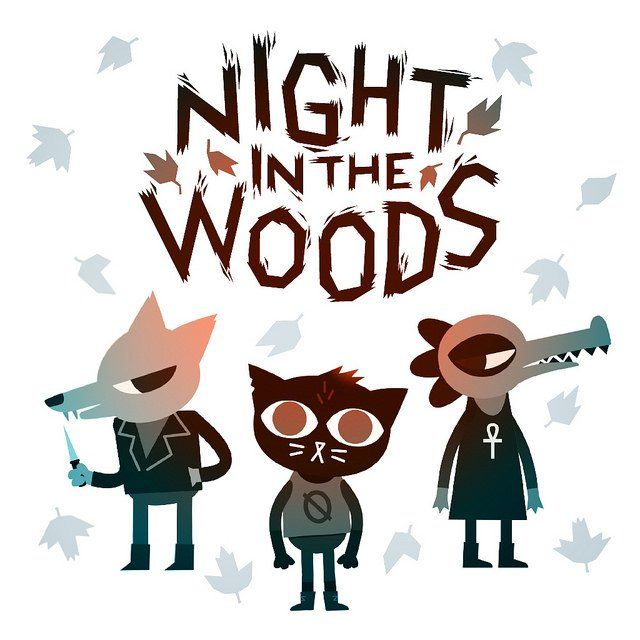 Night in the Woods Game Logo