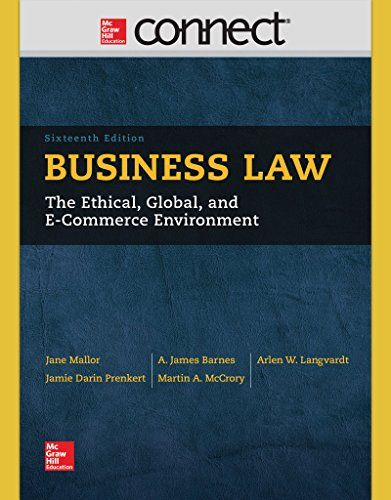 The 25 best connect mcgraw hill ideas on pinterest mcgraw hill throughout its 80 years of existence this book has been a leader and an innovator in the fi elds of business law and the legal environment of business fandeluxe Image collections