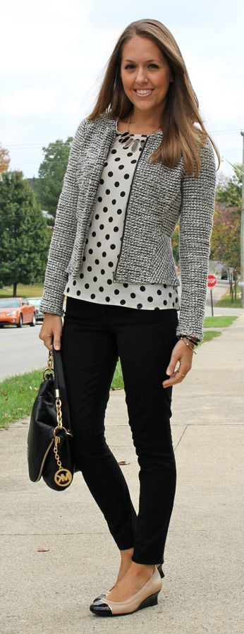 9 chic fall outfits with pants for the office - Page 7 of 9 - women-outfits.com