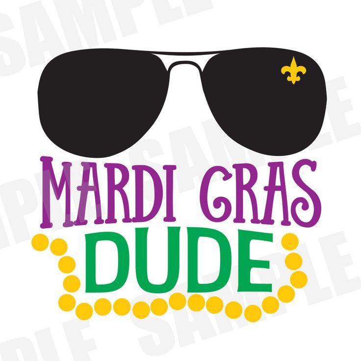Mardi Gras Parade Carnival Mardi Gras Dude SVG DXF Commercial/Personal Use Silhouette Cameo