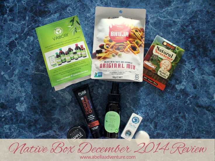 Native Box Classic Box December 2014 Review (includes discount code for $5 off your first box) | @nativeboxau | A Bella Adventure |  http://www.abellaadventure.com/lifestyle/native-box-december-2014-review/