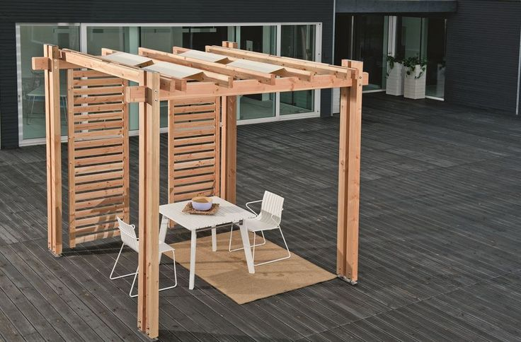 pergola vision 300 x 500 x 271cm douglasie unbehandelt pergolen berdachung holzprodukte. Black Bedroom Furniture Sets. Home Design Ideas