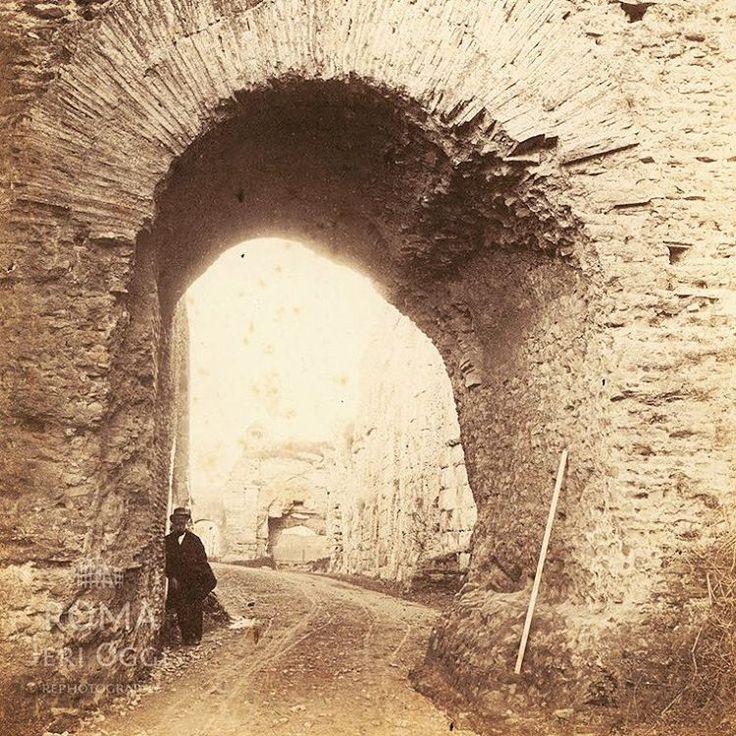Via del Mandrione (1864)