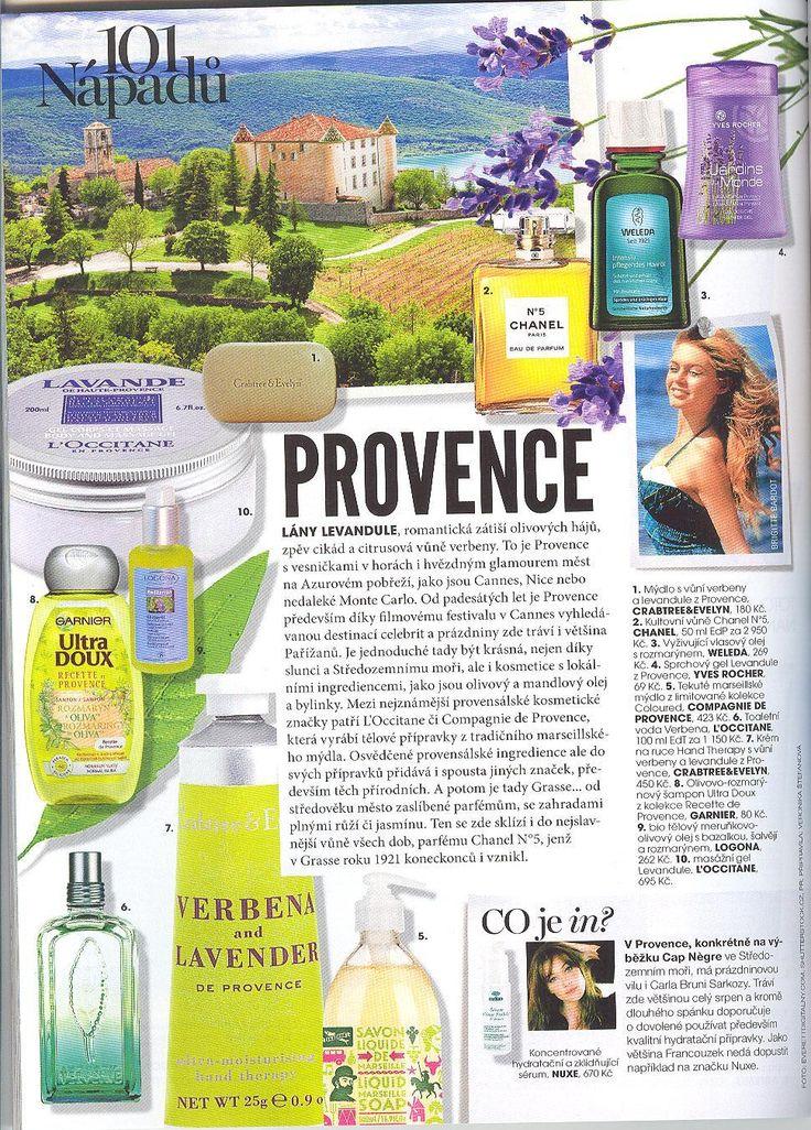Marie Claire 8/2014 - Provence - Olej Mediterran