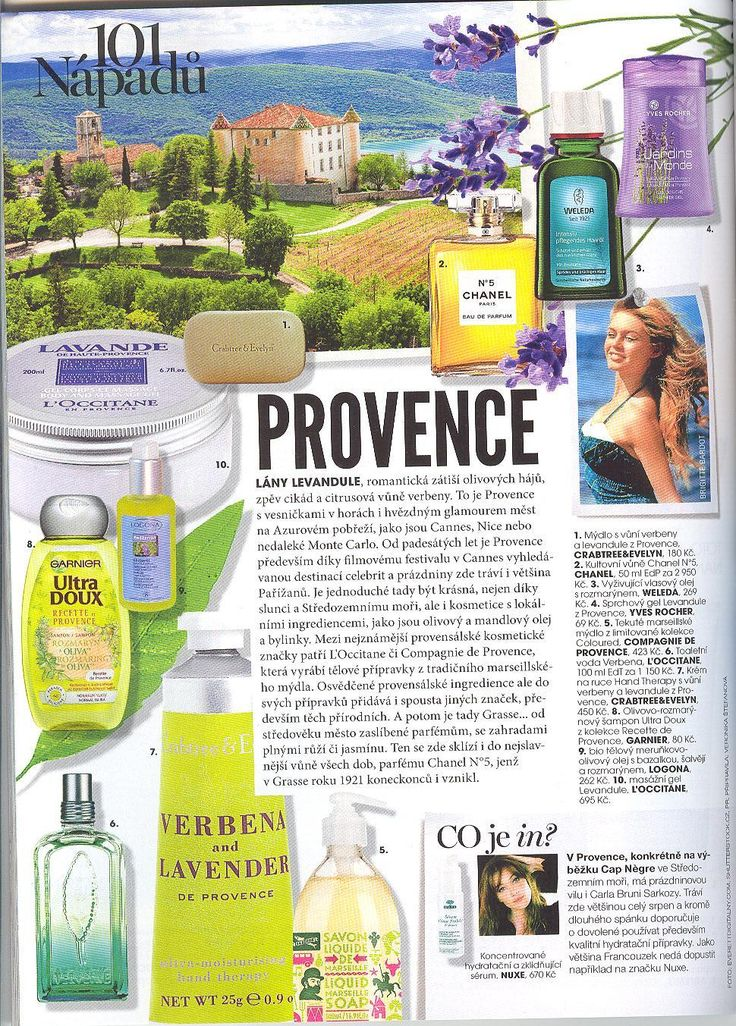 Marie Claire 8/2014 - Provence - Olej Mediterran