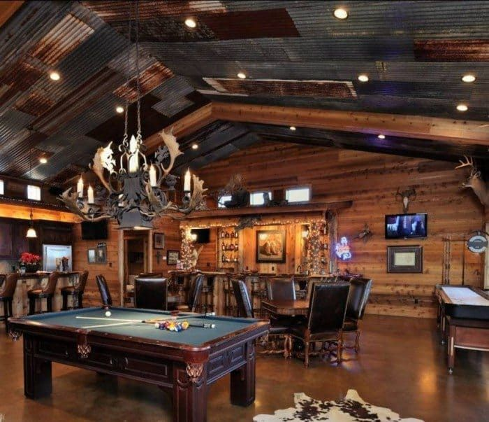 Awesome Man Cave Decorating Ideas Rustic Man Cave Best Man