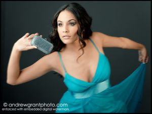 Caterina for a photoshoot. #CaterinaLopez #Americanmodel