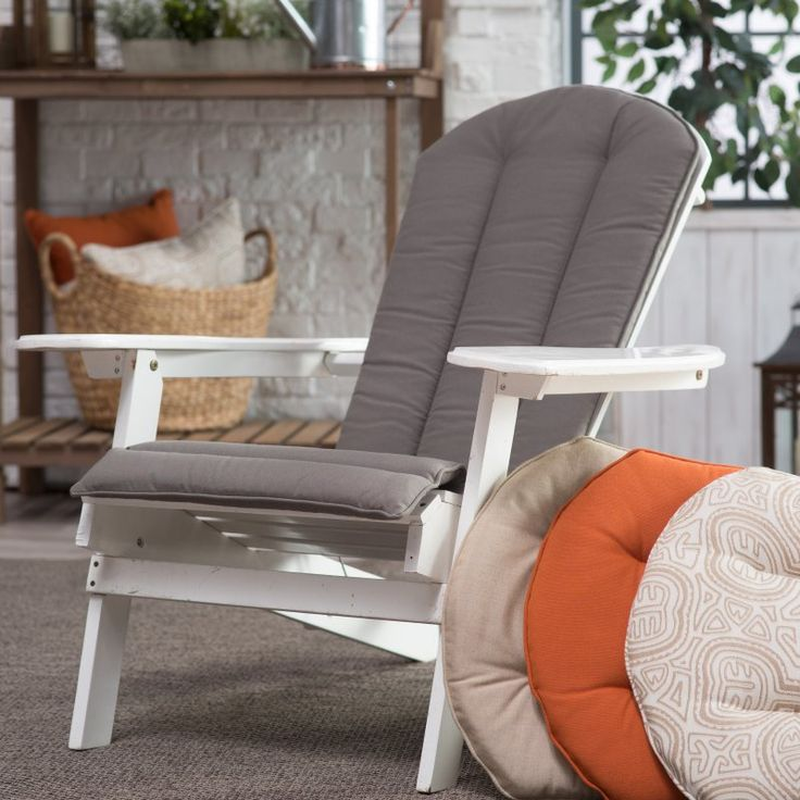 Belham Living Toscano Sunbrella Adirondack Chair Cushion   M055 1 S48030