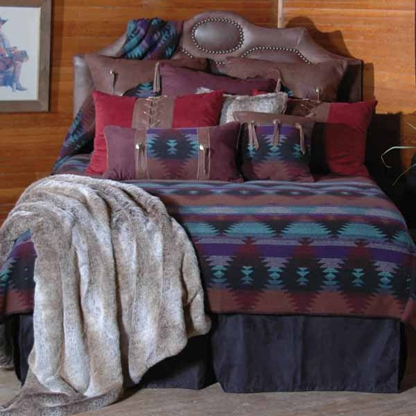Cabin Bedding, Cabin Comforters, Comforter Sets, Lodge Cabin Bedspreads, Rustic Sheets, Log Cabin Bedding, Bear, Moose, Wolf, Wilderness: The Home Decorating Company