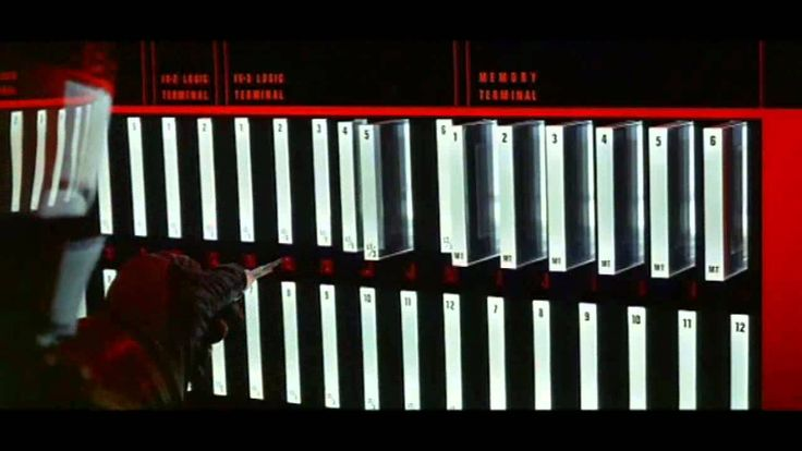 Great scene that I first saw in 1974 Fall when I took my first computer class Data Processing 24 and the teacher also recommended Colossus The Forbin Project along with 2001.Deactivation of Hal 9000
