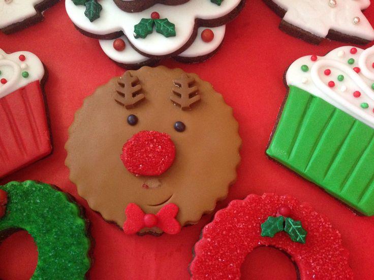 Roudolph cookie!