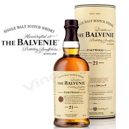 Balvenie 21 Portwood Whisky de Malta