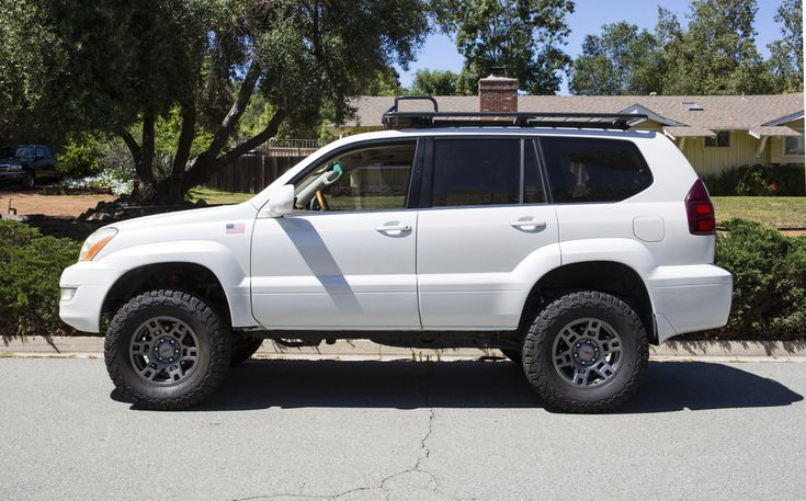 Gx470 With Roofrack Trd Wheels And No Running Boards