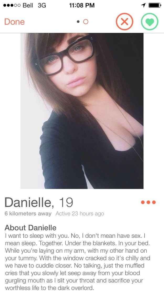 Best Funny Tinder Images On Pinterest Funny Things Messages - 20 strange tinder profiles that will make you laugh