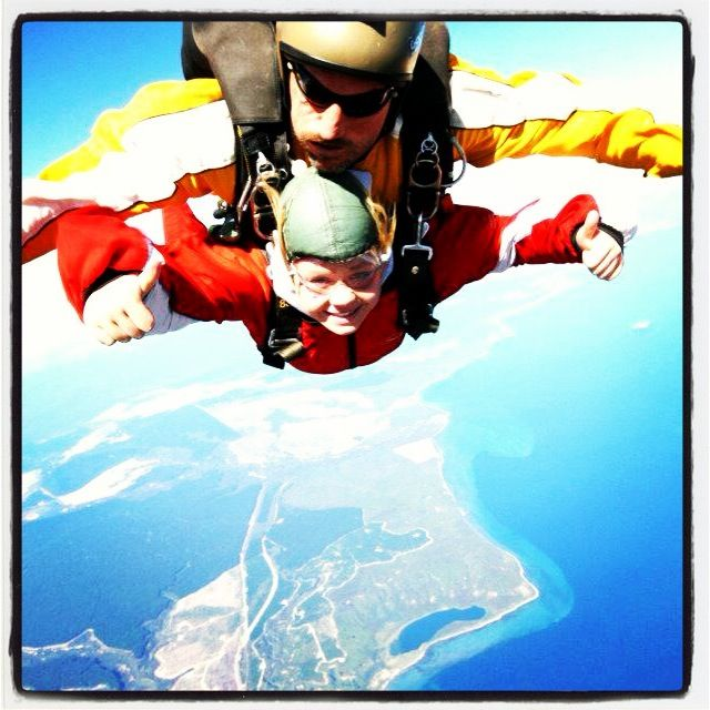 Skydiving New Zealand #staff