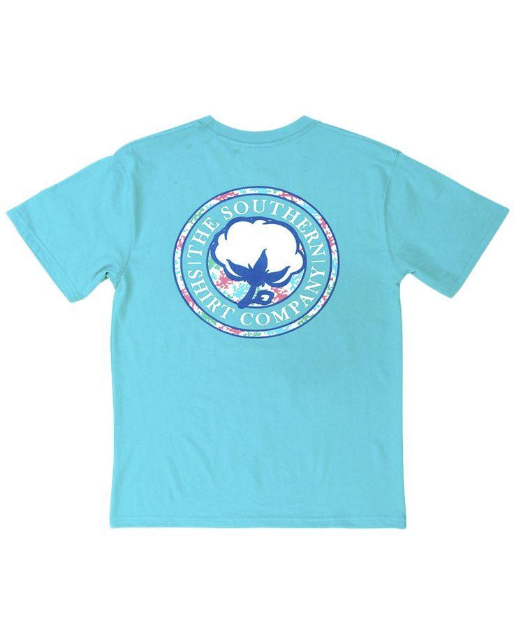 Southern Shirt Co - Coral Logo Tee