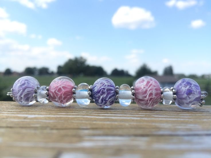 Purple Rose and Opal Raspberry