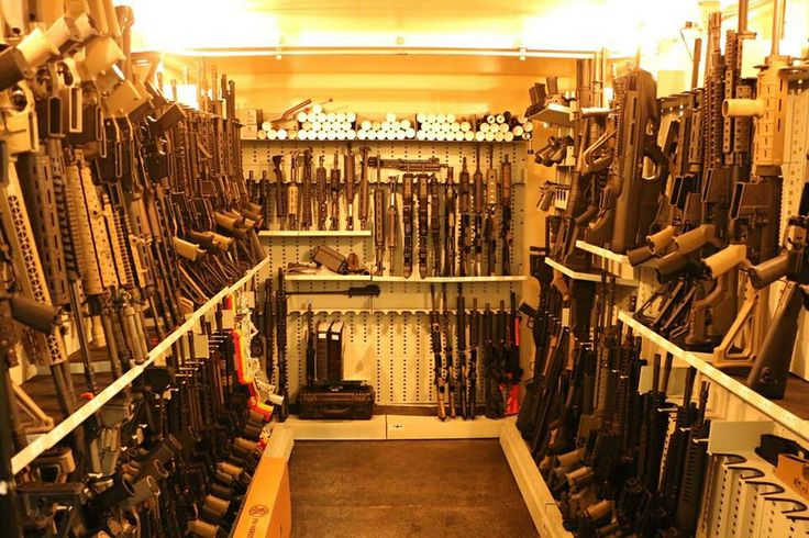 Magpuls stock tactical gun room safe armory storage for Walk in gun safe plans