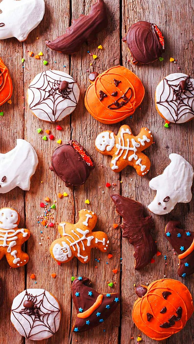 Wallpaper iPhone/happy Halloween ⚪️
