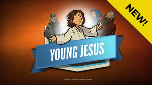Jesus As A Child Kids Bible Lesson: In this Jesus as a child Sunday school Bible story we turn to Luke 2:39-52 to find Mary and Joseph frantically searching for their missing child. After days of searching they discover their young son in the temple asking and answering questions with religious leaders. Packed with digital resources like Q&A, memory verse and big idea this slideshow is a must have for your upcoming Jesus as a child Sunday school lesson.