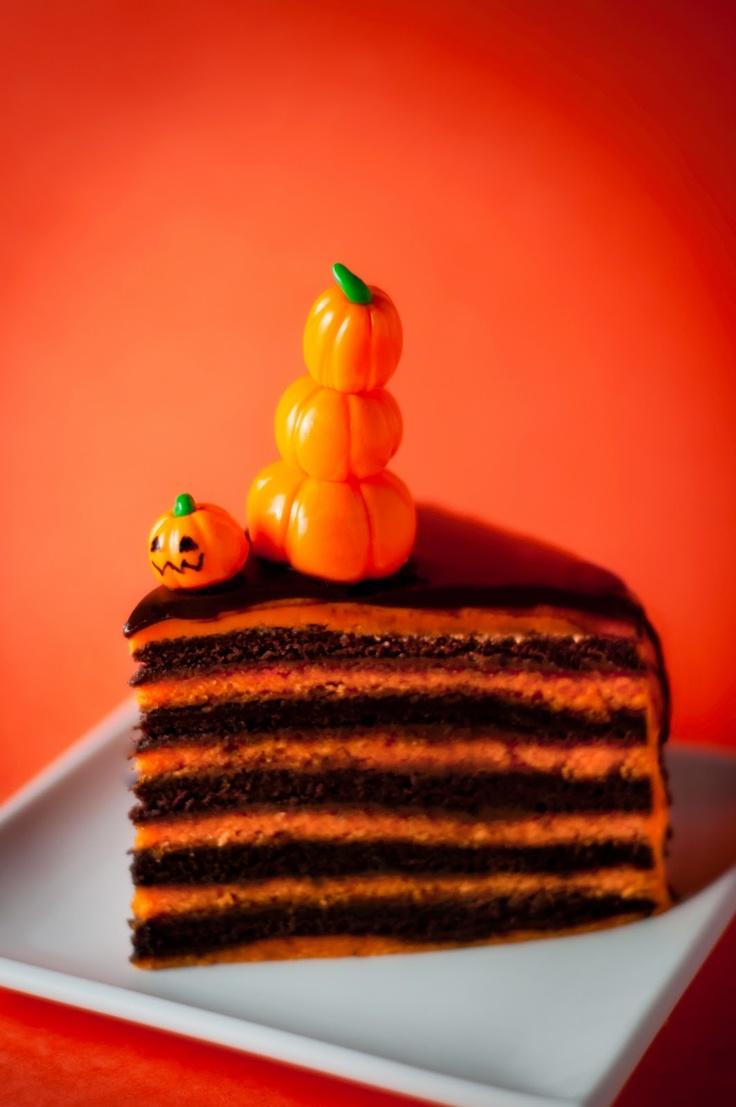 Orange & Chocolate Layered Cake