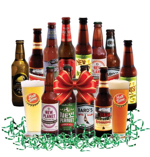 15 best beer baskets images on pinterest beer basket beer gift gluten free beer gift basket want negle Images
