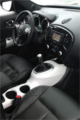 Nissan Juke Shiro ön konsol