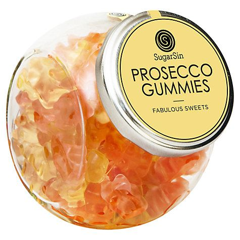 Buy Sugarsin, Prosecco Gummy Bears, 280g Online at johnlewis.com