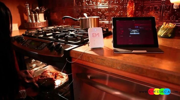 Kitchen:IGrill Unique Quality Kitchen Gadgets For Seniors Men Healthy Eating High Tech Storage Solutions DIY Electrical Kitchens Gadget Tablet Design Ideas (2) Unique and Quality DIY High Tech Kitchen Gadgets to Drool Over