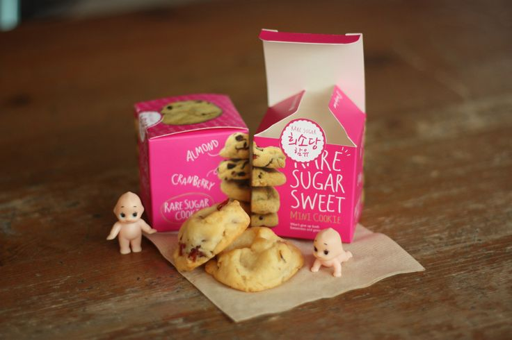 Matsutani Korea /  'Rare Sugar Sweets Mini Cookie' Package Design