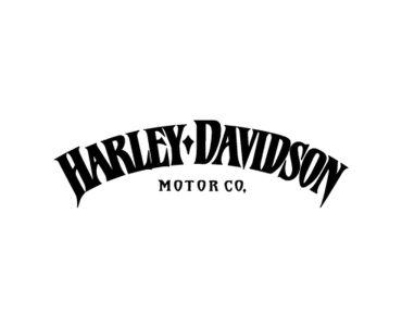 Sticker moto Harley-Davidson Iron 883 logo