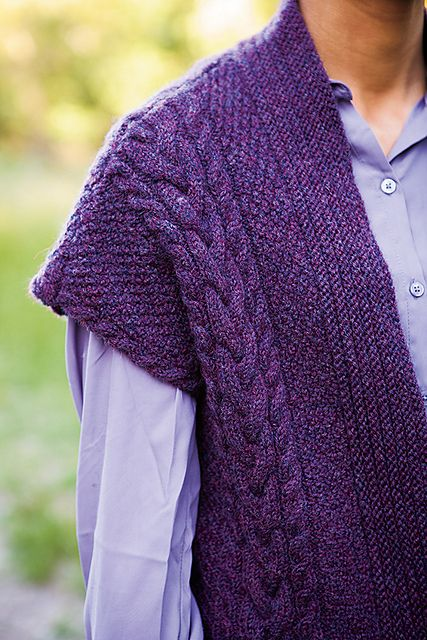 Ravelry: Fall Day Vest knitting pattern by Mone Dräger