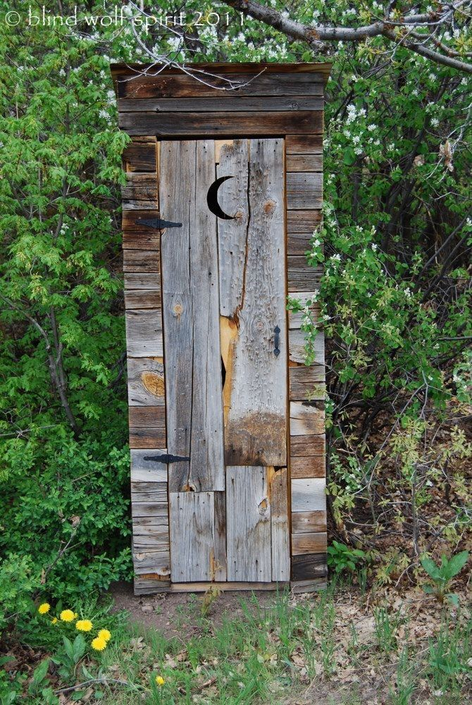 Barnwood outhouse fine art photo for Outhouse pictures