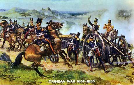 Royal Artillery Battle of Inkerman 1954