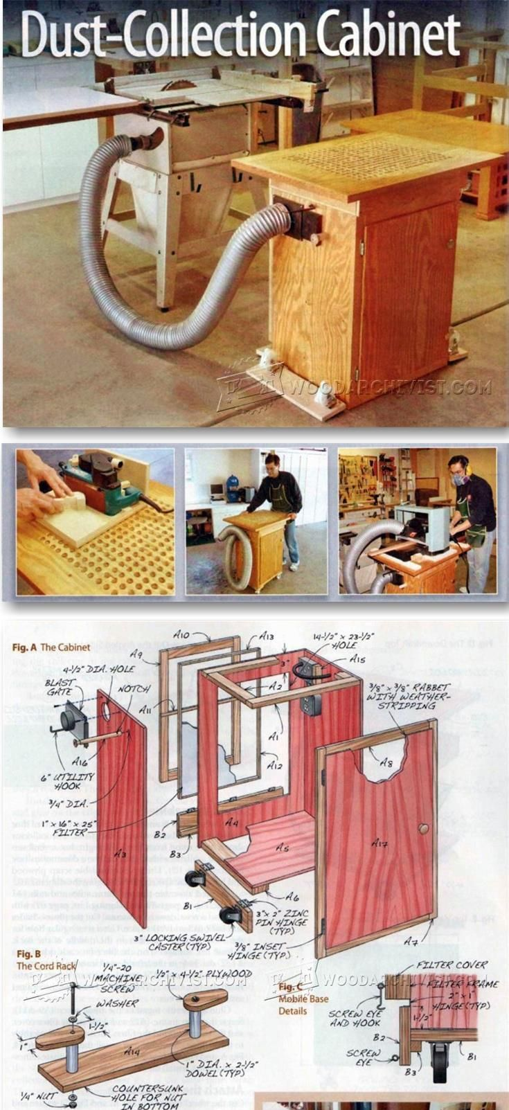 Downdraft Table Plans - Sanding Tips, Jigs and Techniques | WoodArchivist.com