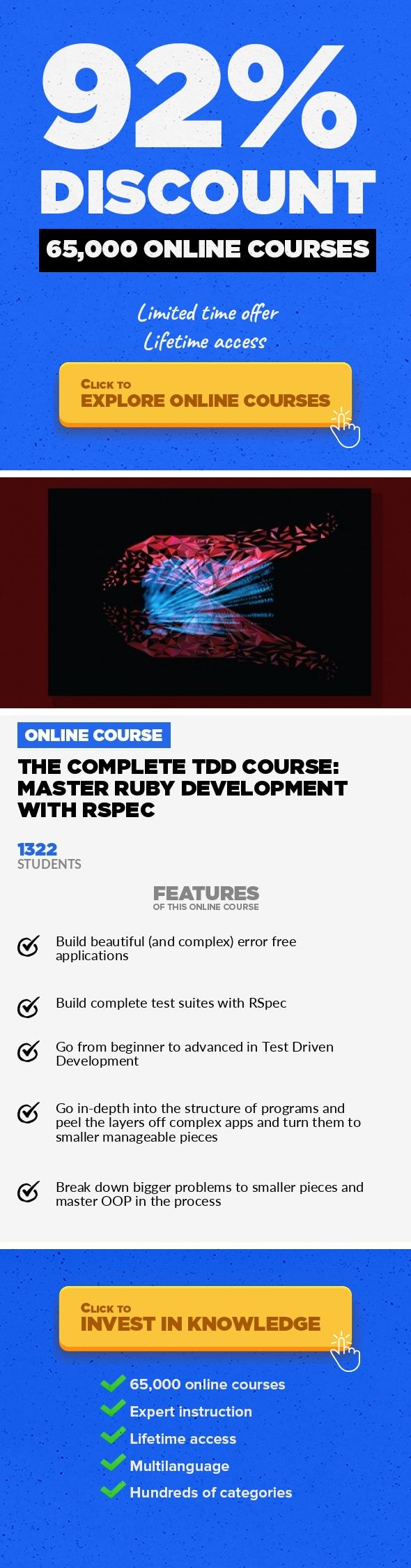 Mejores 119 imgenes de writing skills en pinterest the complete tdd course master ruby development with rspec programming languages development onlinecourses coursesfree onlinelearninglogo volume 1 fandeluxe Gallery