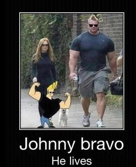 The Real Johnny Bravo :D   (http://loldaddy.com/pics/3916)Real People, Face Swap, Real Life, The Real, Funny Stuff, Johnnybravo, Holy Cows, The Incr, Johnny Bravo