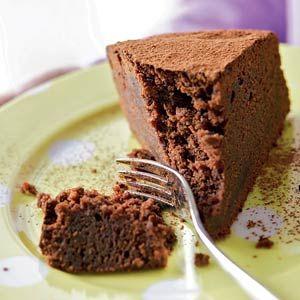 12 stuks, 360 kcal, 15 min en 40 min wachten! Sascha's chocoladetaart