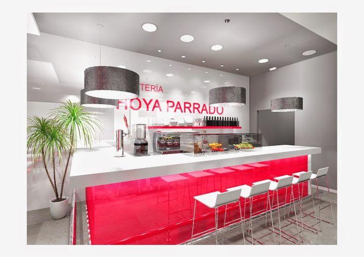Manolo lorenzo interiores interiores cafeterias arquitectura interiorismo pinterest - Diseno cafeterias modernas ...