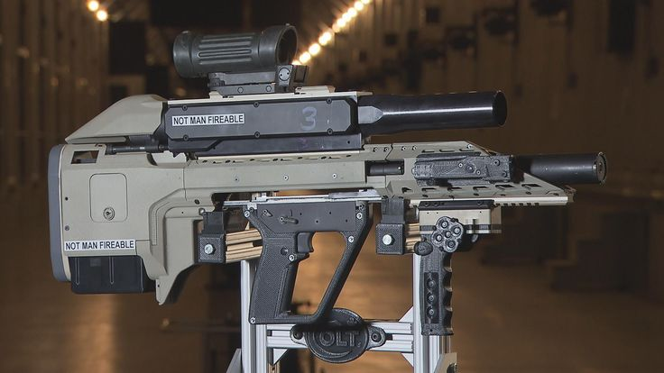 The above Terminator-like weapon is Colt's latest, greatest invention. Developed with Defense Research and Development Canada, (our northern neighbors' version of DARPA) this is the smart gun Canada wants to fight the wars of the future. And it's hard to look at this insane level of firearm innovation and not think about the birth of the Colt .45.