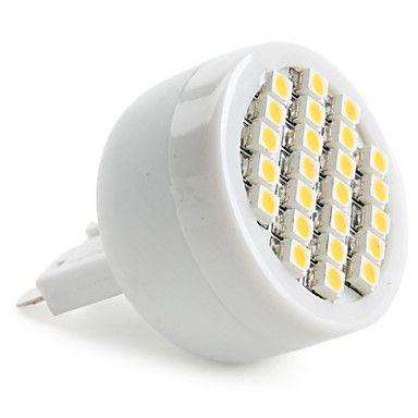 G9 1,5 W 24x3528 SMD 50-60lm 2800-3200K varm hvit lys LED-spot pære (230v) -