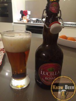 Birra artigianale marchigiana prodotta ad Apecchio dal birrificio Amarcord - Birra Lucilla La Rossa